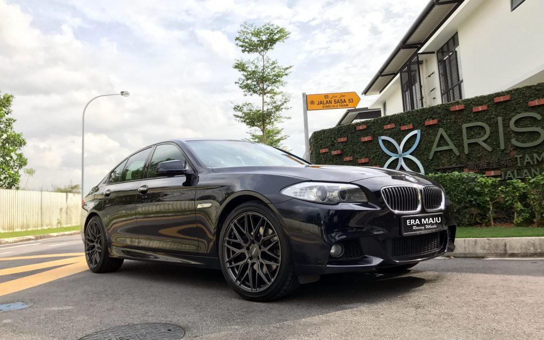 Thank you for giving us the opportunity to serve you and have a safe drive! BMW F10 upgrade to 20inch VARRO VD06 USA Sport rim & 4pcs Dunlop Tyres. #bmw #4series #f10 #varro#vd06#usawheel #dunlop #bmwclub #sportrim #wheels #rims #tyres #tires #eramajuracingwheels #tamangaya